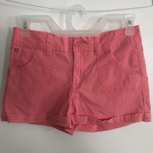 Girls Justice Salmon Shorts